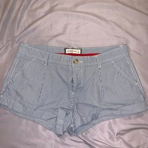 Striped Abercrombie & Finch Shorts